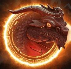Double Dragons Slot Machine: simbolo Wild