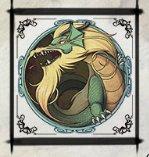 Il simbolo Scatter della slot machine Phoenix and the Dragon