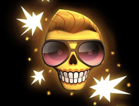 Esqueleto Explosivo Slot Machine: simbolo Wild