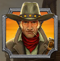 Il simbolo Wild della Gunslinger Slot Machine