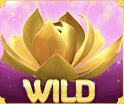 Golden Lotus Slot Machine: simbolo Wild