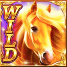 Golden Mane Slot Machine: simbolo Wild