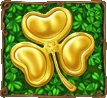 simbolo scatter e free spins di golden shamrock