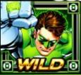 Green Lantern Slot Machine: simbolo Wild