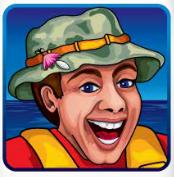 Il simbolo Wild della slot machine Let's Go Fish'n