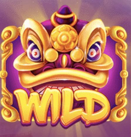 Lion Dance Slot Machine: simbolo Wild