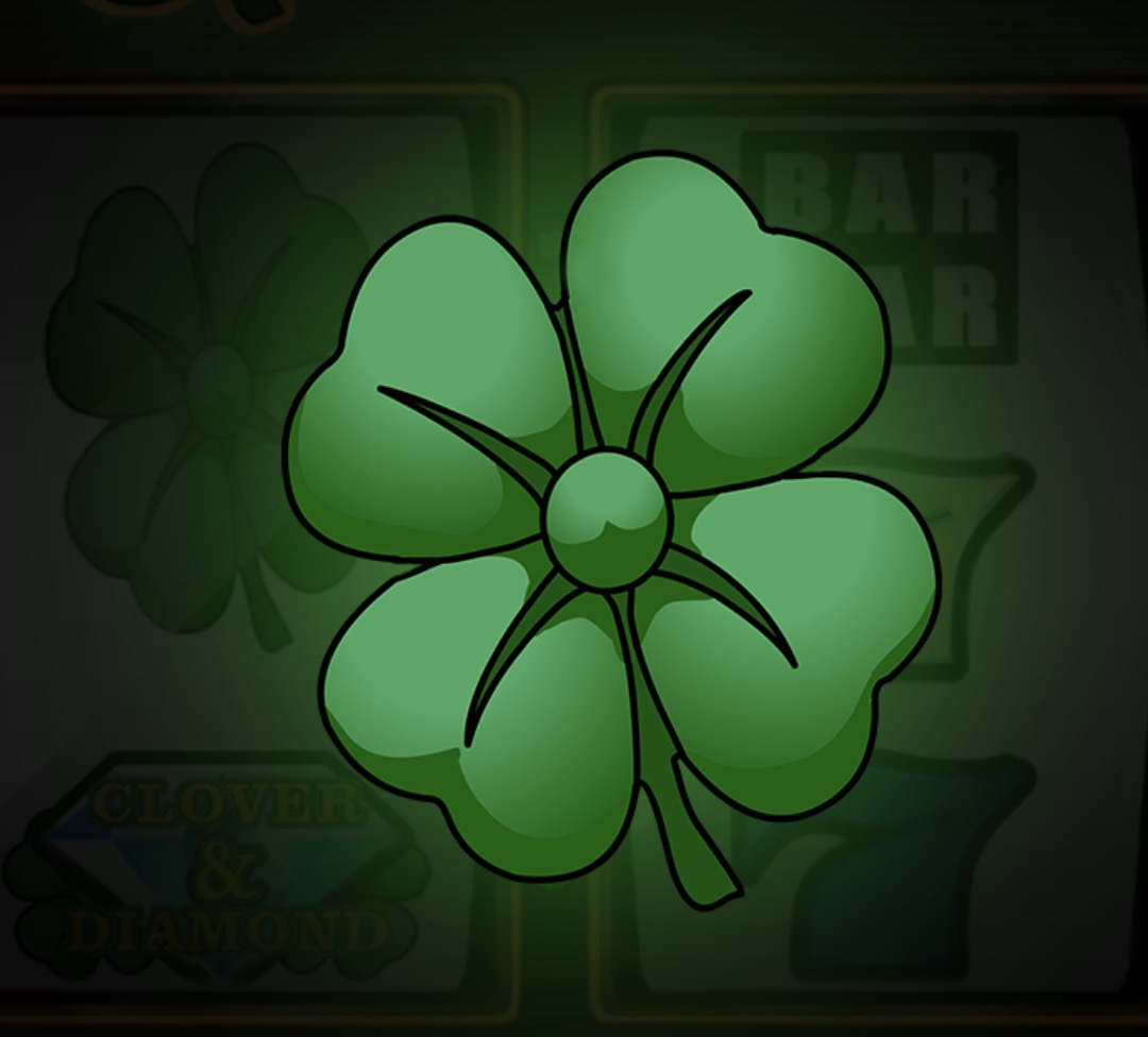 Lucky Clover Slot Machine: simbolo Wild