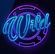 Neon Reels Slot Machine: simbolo Wild