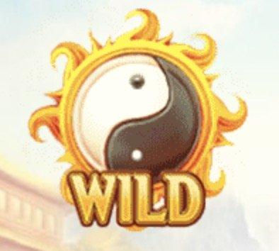 Red Phoenix Rising Slot Machine: simbolo Wild