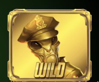 Reptoids Slot Machine: simbolo Wild