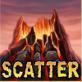 simbolo scatter e modalità free spins di dragon island slot