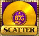 Simbolo Scatter della slot machine Gold