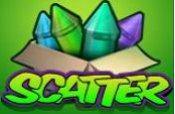 simbolo scatter e free spins di wild rockets