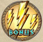Il simbolo Wild della Thundering Zeus Slot Machine