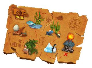 Slot Machine Toc Toc - Mappa dei livelli