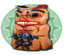 Il simbolo Totem della slot machine Wolf Run