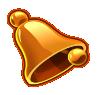 simbolo campana della slot machine Twin Spin