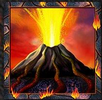 Volcano Eruption Slot Machine: simbolo Wild