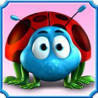 Simbolo Wild moltiplicatore della slot machine Beetle Mania Deluxe