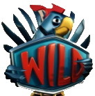 simbolo wild di EggOMatic slot machine online