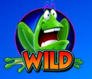 Il simbolo Wilk della slot machine Frogs'n Flies