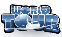 Il simbolo Wild della slot machine World Tour