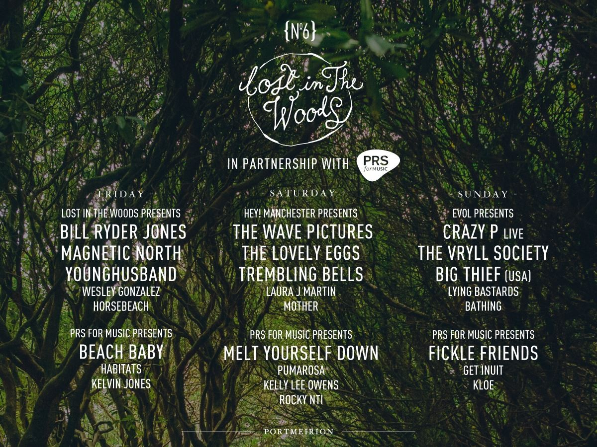 Festival no.6 lost in the woods bill ryder jones