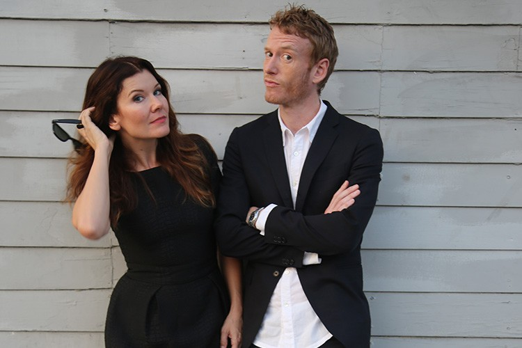 Teddy Thompson and Kelly Jones. Photo by cqaf.com