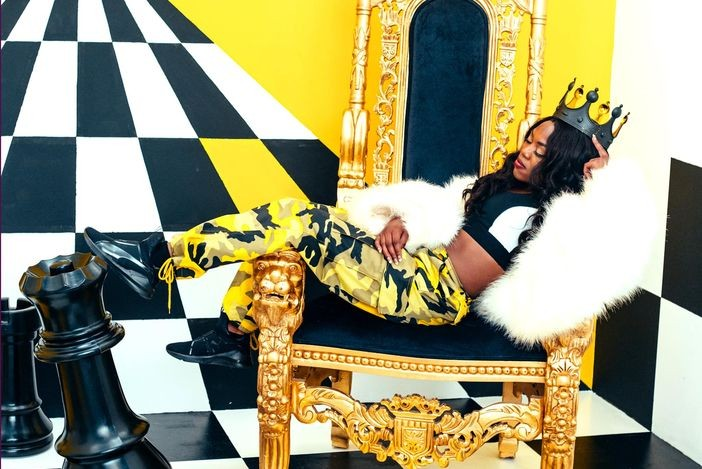 Lady Leshurr (image from artist Facebook)