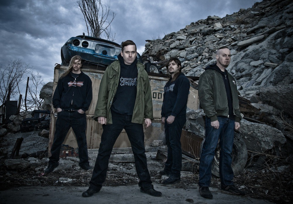 Cattle Decapitation - photo from www.metalinjection.net