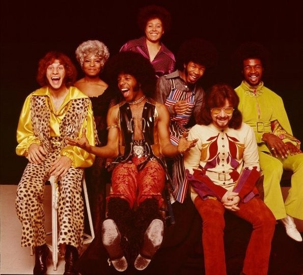 Sly & The Family Stone - pic from artist's Facebook