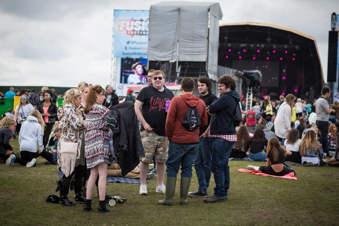The crowd at Fusion Festival