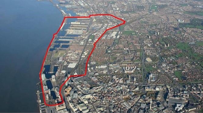 Aerial View of Atlantic Corridor