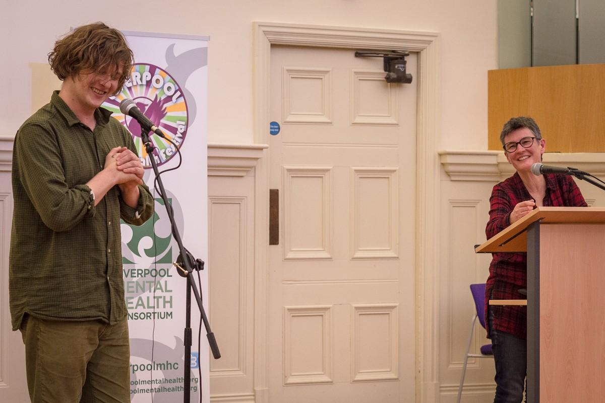 MHM Awards : Bill Ryder-Jones and Claire Stevens (Liverpool Mental Health Consortium)