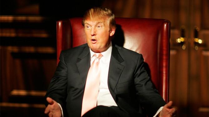 Donald Trump on NBC's The Apprentice