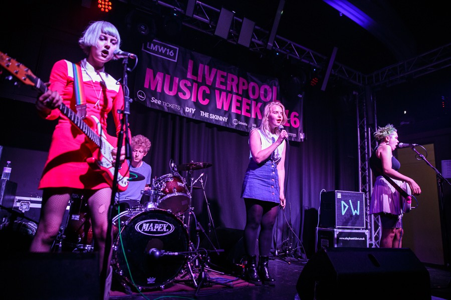 Dream Wife at Liverpool Music Week