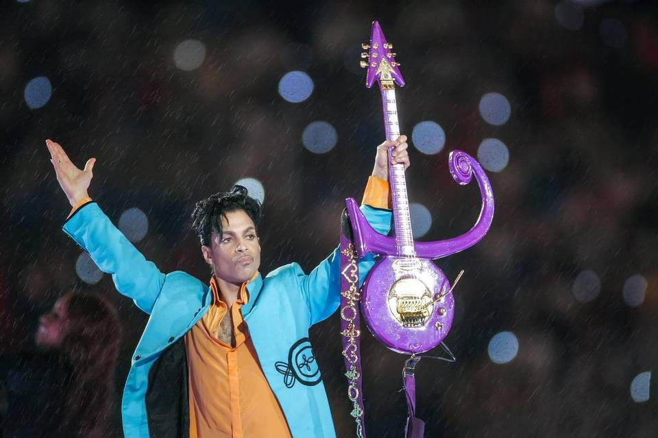 Prince at the Superbowl