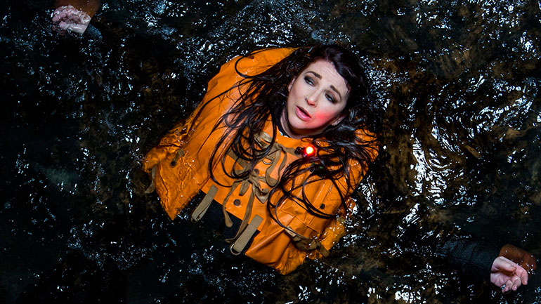 Promotional image from Kate Bush's Before The Dawn stage show