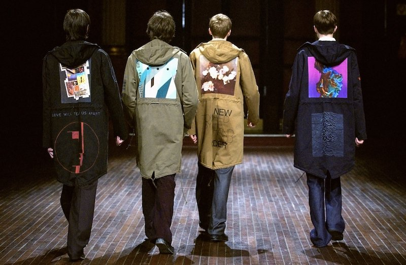 Raf Simons A/W 2003 Collection (Credit to Open Eye Gallery)