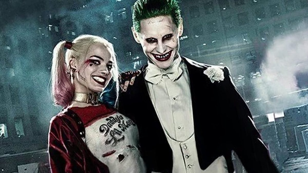 Harley and The Joker - The faces of 2016