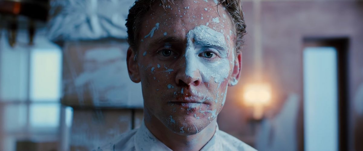 Tom Hiddleston gets the blues in High Rise