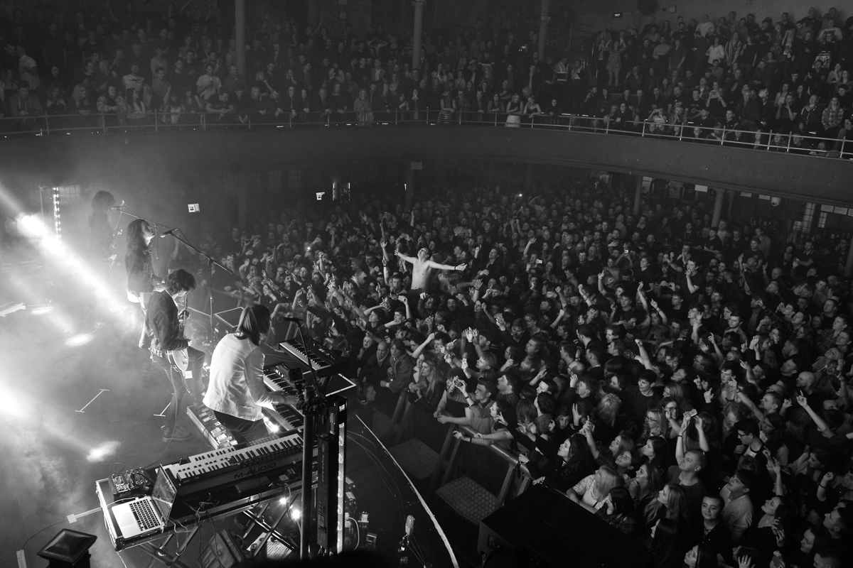 Blossoms at the Albert Hall