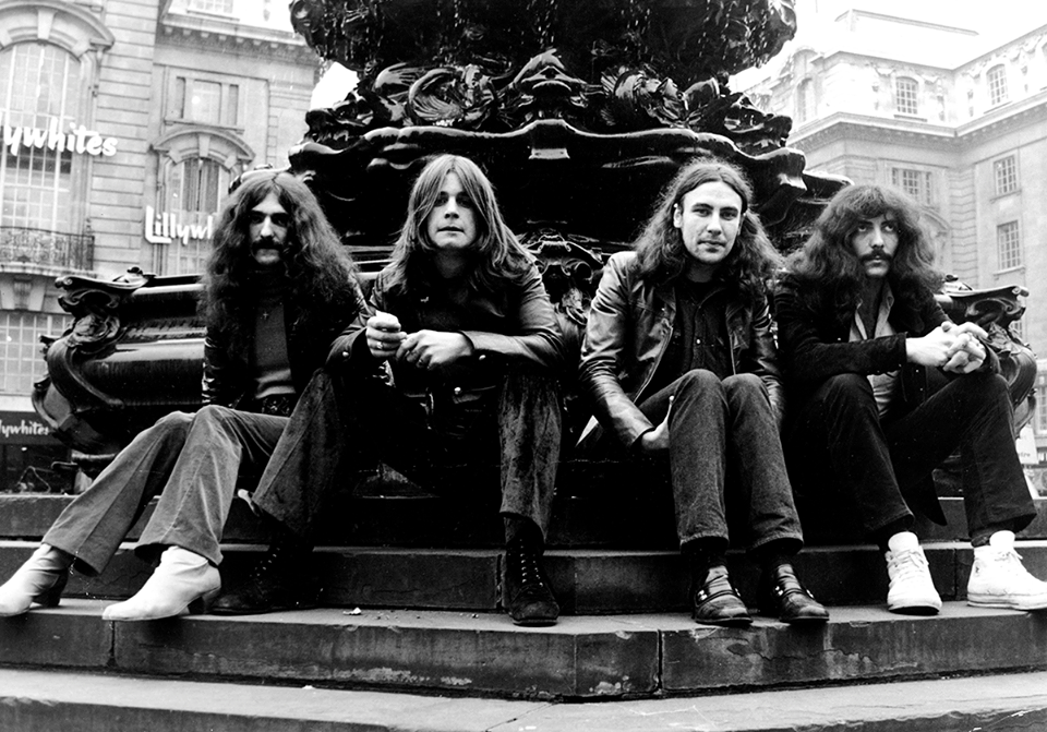 Black Sabbath. I wonder if War Pigs for 40 minutes? We must be told.