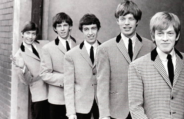 A suited and booted Rolling Stones