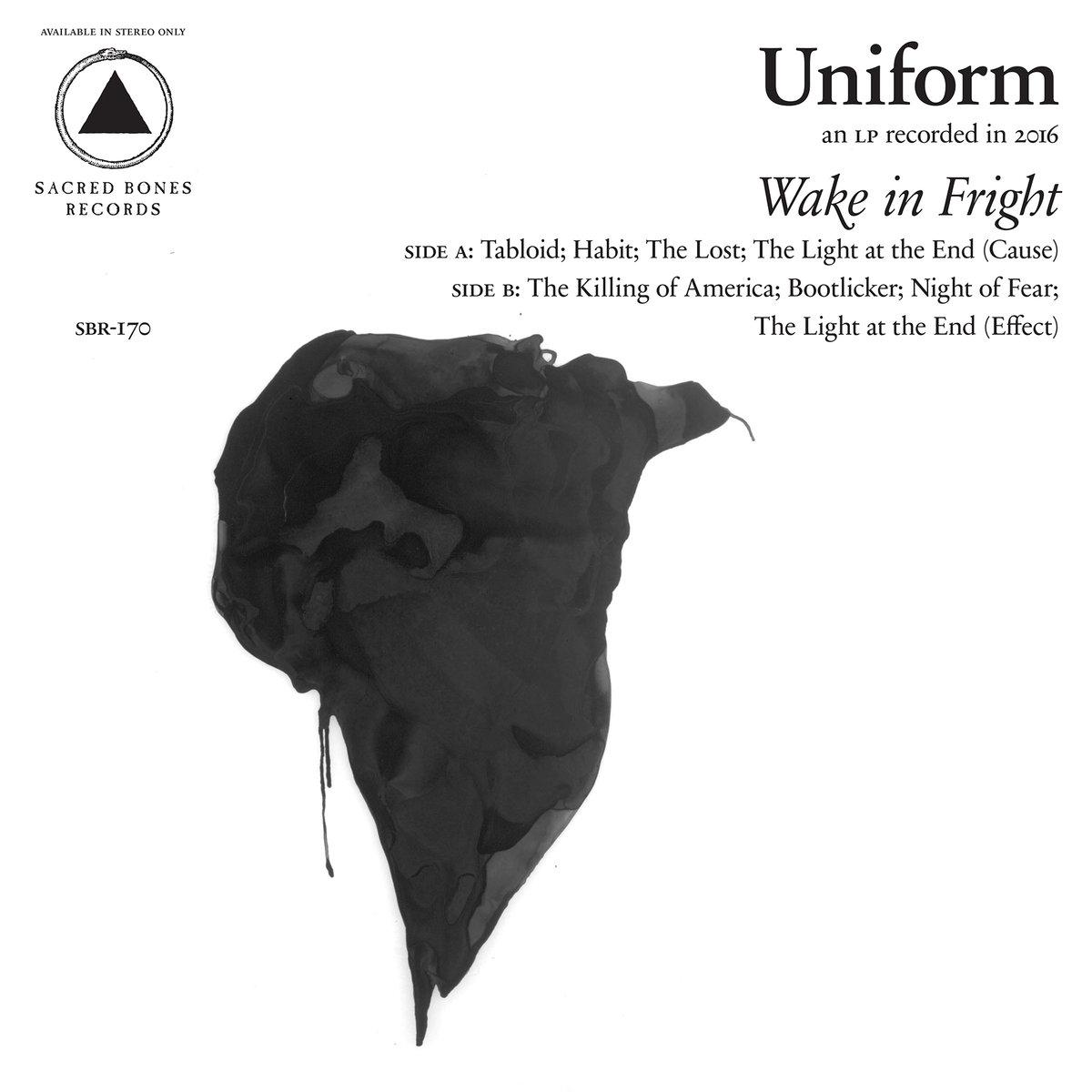 Uniform Wake In Fright