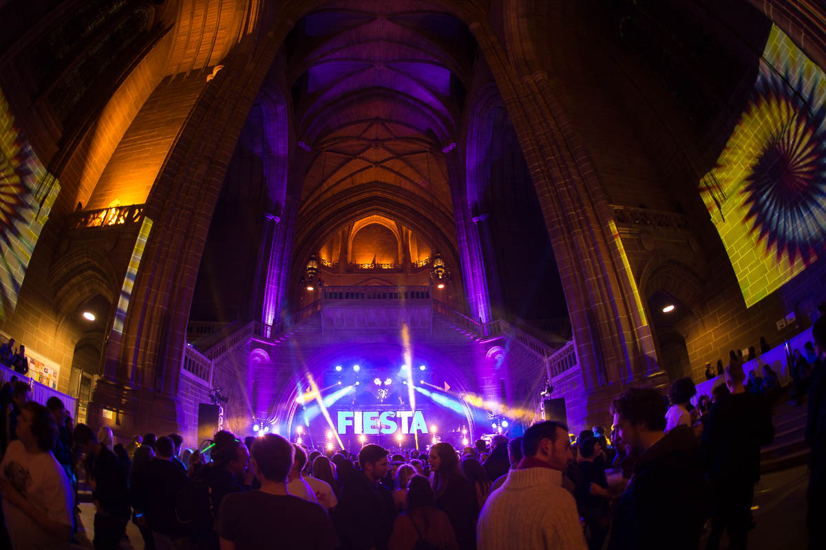 Fiesta Bombarda at the Anglican Cathedral