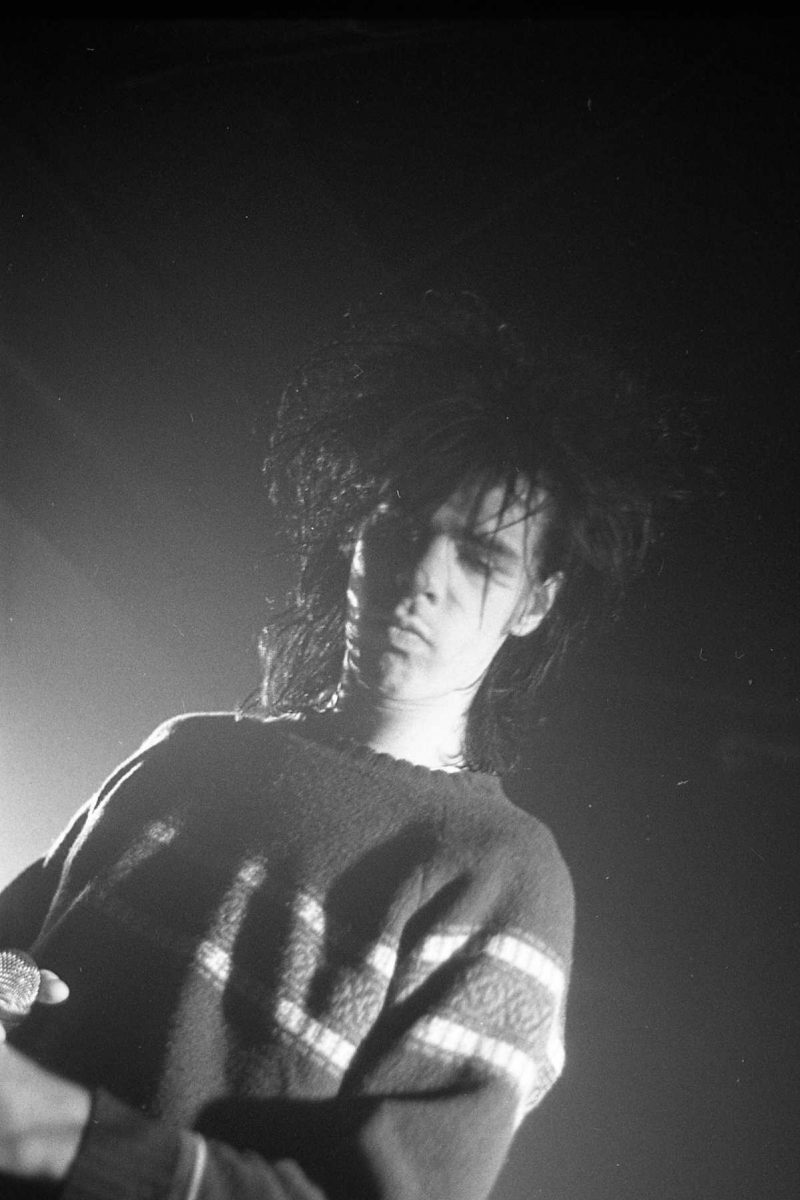 Nick Cave at the Warehouse, 1981 - by Francesco Mellina
