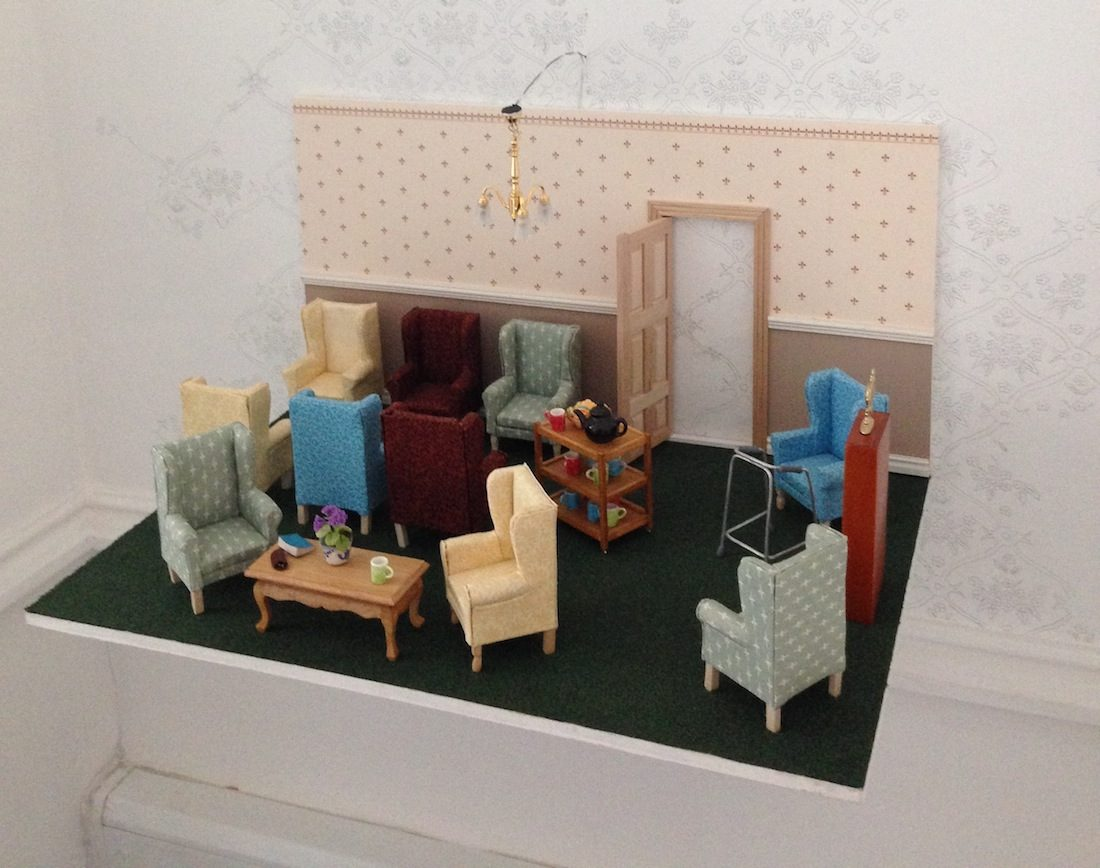 from Tindale's 2015 Preston exhibtion, Certain Places (image courtesy of a-n.co.uk)