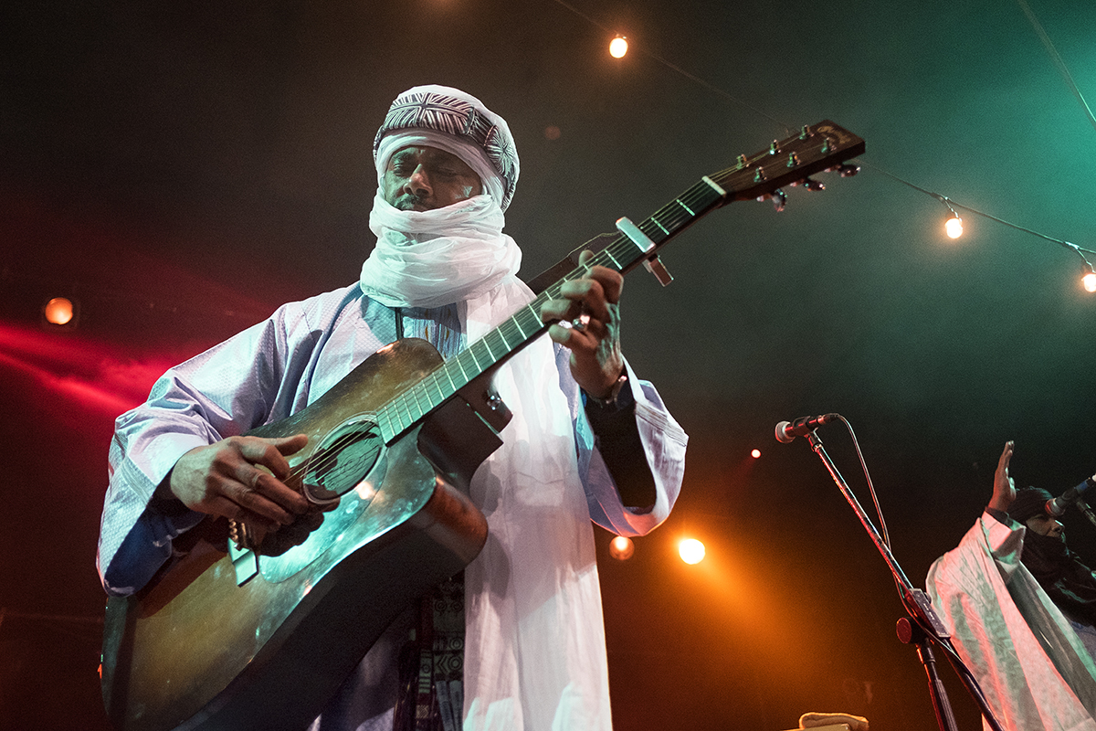 Tinariwen (photo credit: Warren Millar)