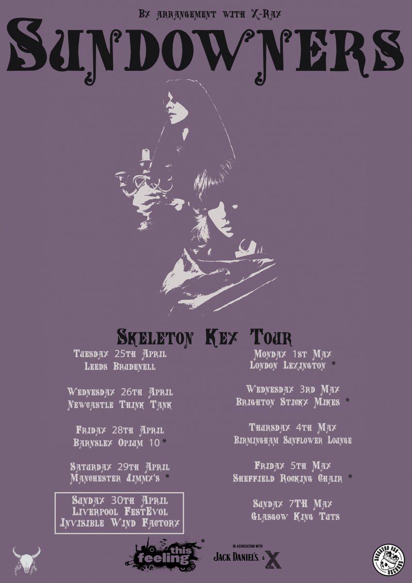 The Sundowners UK Tour